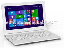 Topest OEM/ODM 11,6-zoll-laptop in weiß/schwarz/goldene farbe