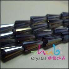 DIY Handmade Black Foil Glass Beads for wholesale