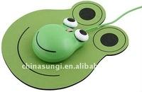 Frog shape optical mouse gift mouse