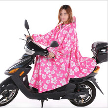 100% polyester or oxford outdoor waterproof motorcycle riding sexy rain poncho for women
