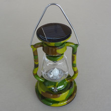 for army or relief lighting with hand crank led solar emergncy lantern
