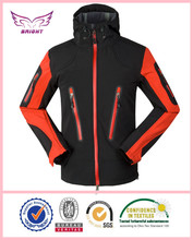 OEM man pressure rubber jacket door man softshell jacket fashion man bonded polar fleece jacket