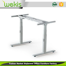 Certified electric smart height adjustable table frame to stand up desk frame