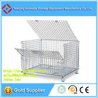 Hot Sale Heavy Duty Folding Steel Storage Wire Mesh Butterfly Dog Cage