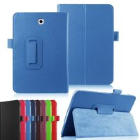 Stylus Pen+PU Leather Folding Stand Case Cover Protector For Samsung galaxy Tab S2 T710/T715