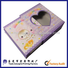wholesale handmade mini paper photo album with box