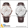 Top quality genuine leather strap watch UN4046 with Japanese movt