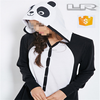 2015 New designed Panda-Hood Pajama Onesie