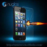 0.3mm Tempered Glass Screen Protector Cover Guard Film for iPhone 5