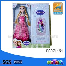 2015 Hot Sale Frozen Movie Doll Toy For Children Girl/action figure