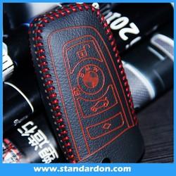 High Quality leather remote key cover case For BM X3 525LI X1