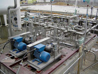 High pressure liquefied natural gas booster pump