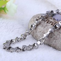 Stainless steel fashion new model necklace chain