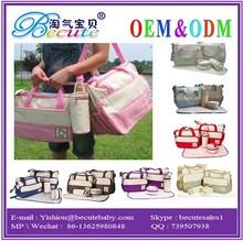 2014 new design baby bag Mummy diaper Bag