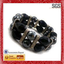 Fashion jewelry hot sales looking for distributor woven cross shamballa bracelet