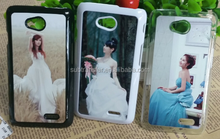 DIY 2d sublimation cellphone cases for LG L70 blank cases with metal sheet for sublimation printing