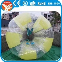 Popular giant PVC/ TPU inflatable bubble soccer balls