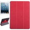 Wholesale Price Silk Texture Leather for iPad Air Flip Cover with Hand Strap
