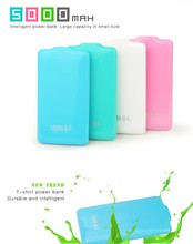 2015 new arrival fashion credit card power bank slim wih low price and high quality