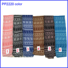 Beautiful stripe diamond print women scarf shawl for wholesale