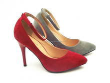Hot sale and best price! sexy shoes high heel for party ,lady office Buckle Strap high heel shoes