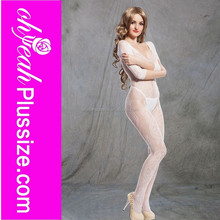 Hot sale honeymoon super sexy wholesale sheer nylon bodystocking