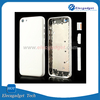 White Full Housing Faceplates with Side Buttons for Mobile Replacement iPhone 5/Mobile Back Cover For iphone 5C