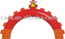 2012 BY hot inflatable balloon arch stand for decoration or advertising