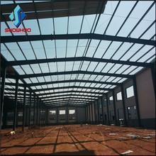 Pre engineered light structure steel design for workshop/warehouse/plant