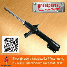 High quality rear car shock absorber for SUZUKI BALENO/CULTUS CLESENT 4180261G10