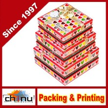 Set of 4 Suede Storage Boxes - 4 Varying Nesting Sizes (110302)