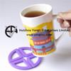 New Design Silicone Rubber Non Slip Heat Insulation Cup Mat