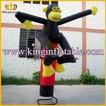 Custom Monkey Animal Air Tube, Mini Inflatable Air Dancer Price