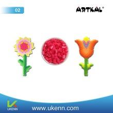 ARTKAL fuse beads M03 3mm 55 colors abt 6, 5000 beads/1kg/bag/color intelligent diy toy beading kit