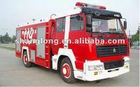 HOWO Fire-extinguishing Water Tank Fire Truck