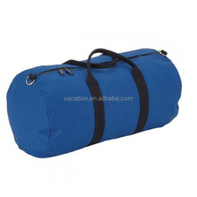 Leisure type wholesale canvas round travel bag