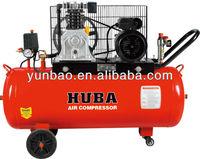 italy type piston belt driven air compressor 2hp