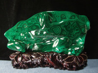 clear malachite crafts different carvings malachite