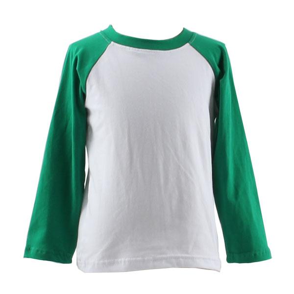Wholesale preppy trendy kids raglan shirt baby baseball t for Cheap custom shirts bulk