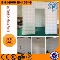Hot exciting Protable inflatable LED Photo Booth For Sale