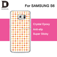 stick the window epoxy gel case phone cover for galaxy s6