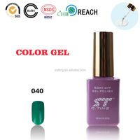 Emerald Green Greenstyle Soak-off Gel Polish from Korean Beauty Product Hot Sale 2015 of Make Up Cosmetics Cosmetic Samples Free