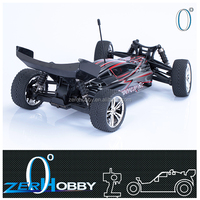 1/10 scale brushed motor rc buggy rechargeable battery for kids racing