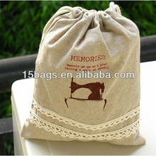 Fashion eco-friendly promotion jute sack