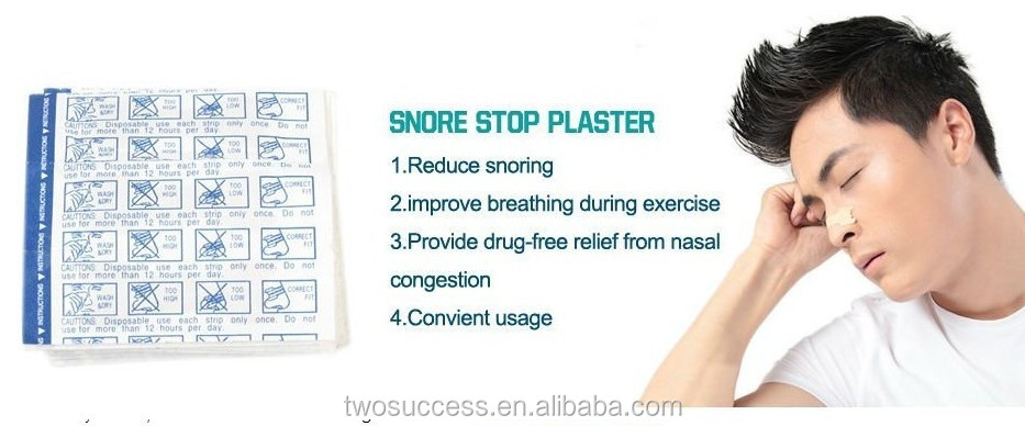 Hot sale breathe right nasal strips with the effect of anti-snoring .jpg