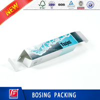 Printing Cosmetics Packaging Box Clear Plastic Boxes for Skin Care Products/custom cosmetic skin care box/ facial skin box/