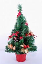Fashion artifical mini pine christmas tree christmas ornament