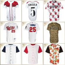 high quality custom baseball jersey wholesale, sublimated buttom down blank baseball jersey/baseball shirts for sale