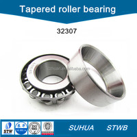 Metric size single row tapered roller bearing 32307