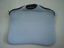 Colorful Neoprene Laptop sleeve carrying Bag with shoulder strap and handle